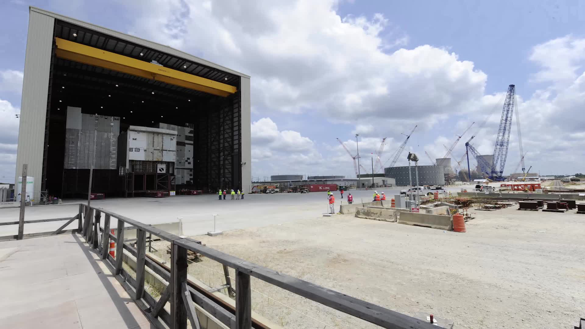 On Saturday, August 8, the 2.28 million-pound CA01 module for Unit 3 at the Plant Vogtle nuclear expansion was lifted safely into place by one of the largest cranes in the world. The CA01 module houses the two steam generators for Unit 3 and was assembled onsite at the construction site near Waynesboro, Georgia.