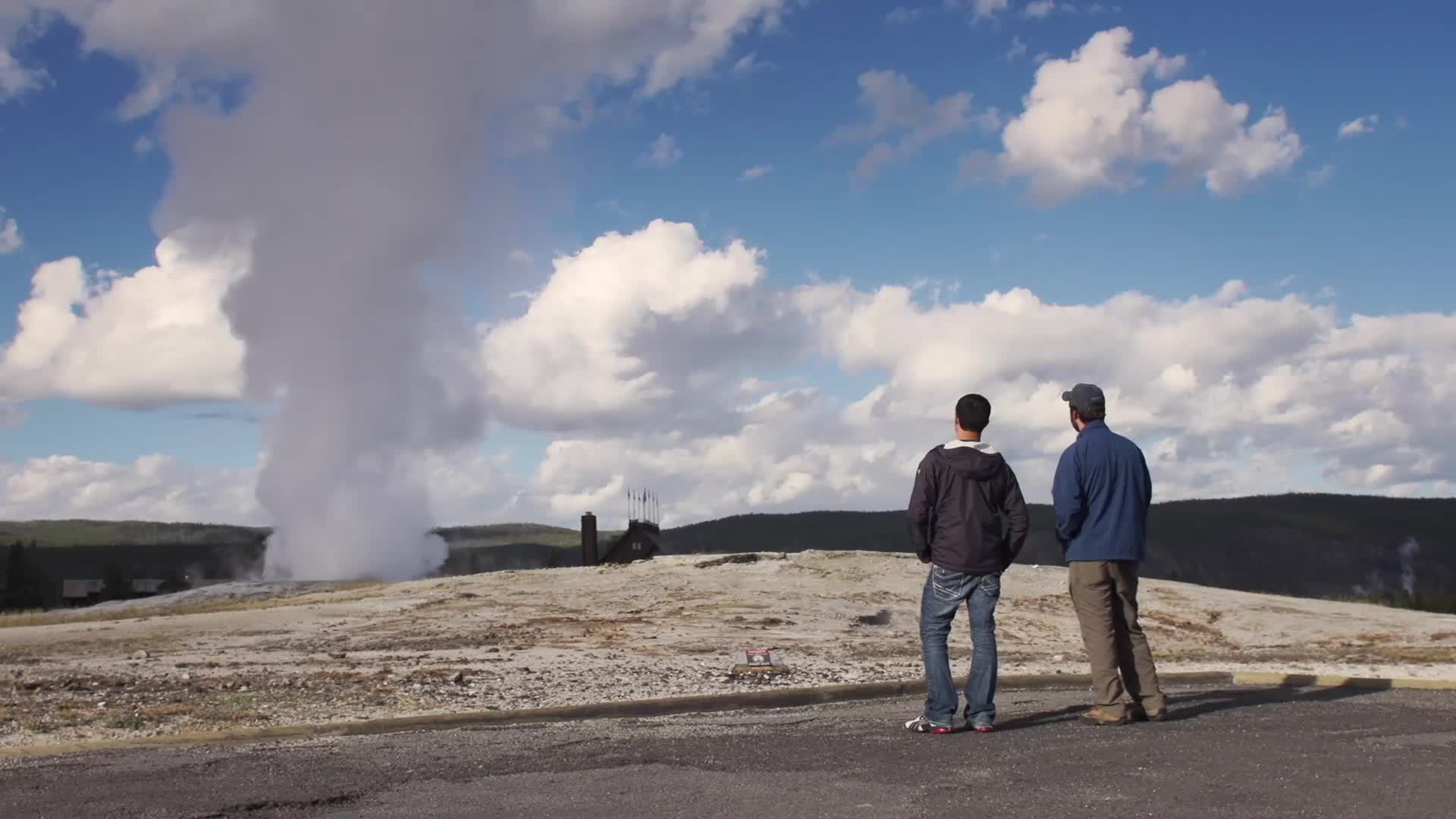 Yellowstone's Famous Old Faithful Geyser Offers Visitors An Ecological New Pathway