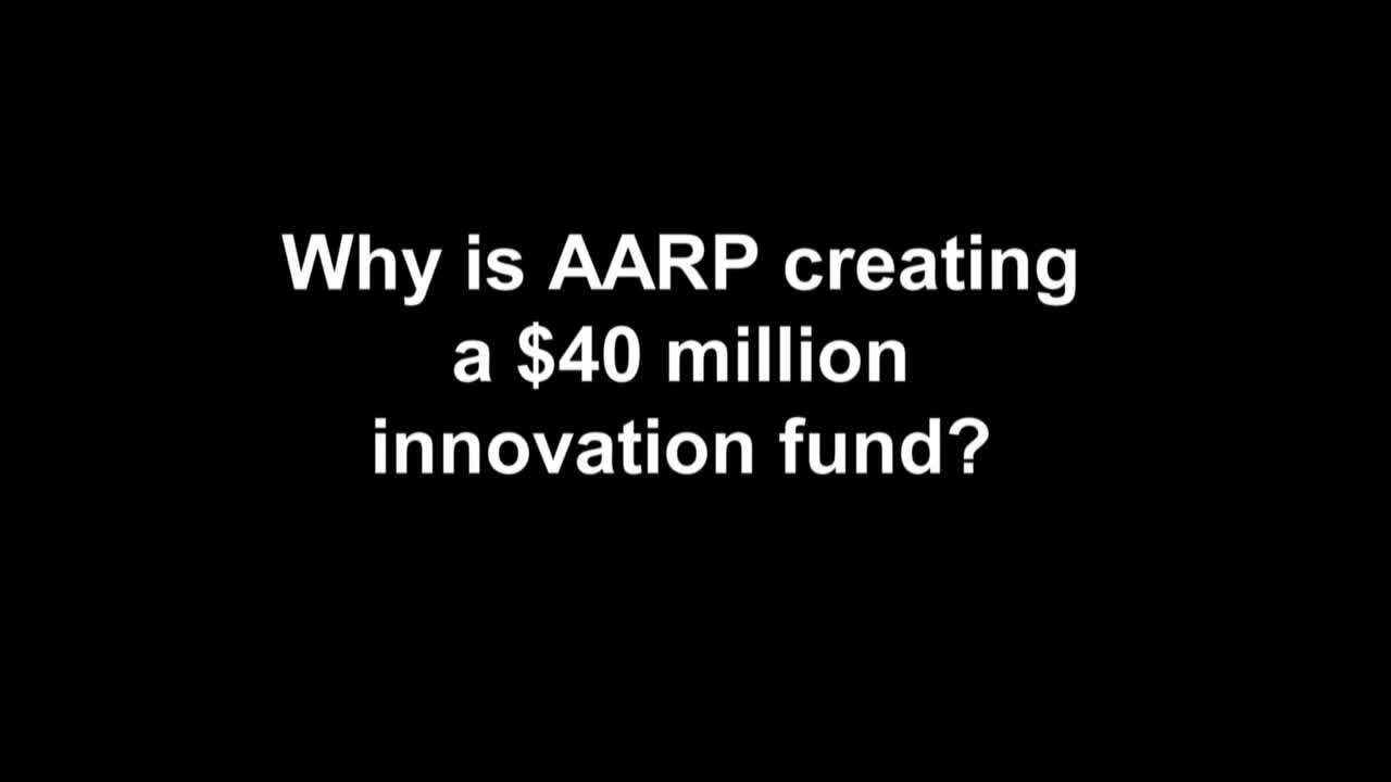B-roll/video about the AARP Innovation Fund