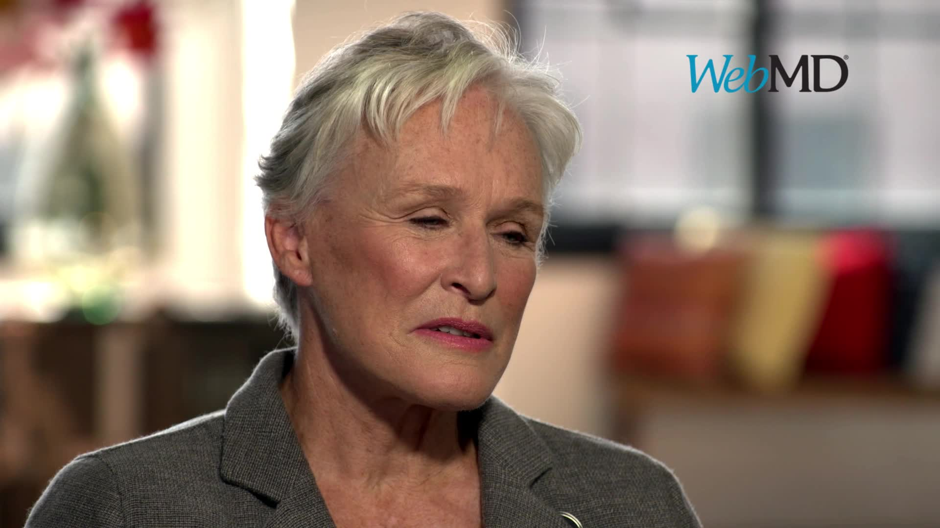 Good Morning America co-anchor and host of WebMD's Health Hero Awards Gala, Robin Roberts interviews WebMD Health Hero People's Choice Award Winner, Glenn Close. (Video: Rock'n Robin Productions)