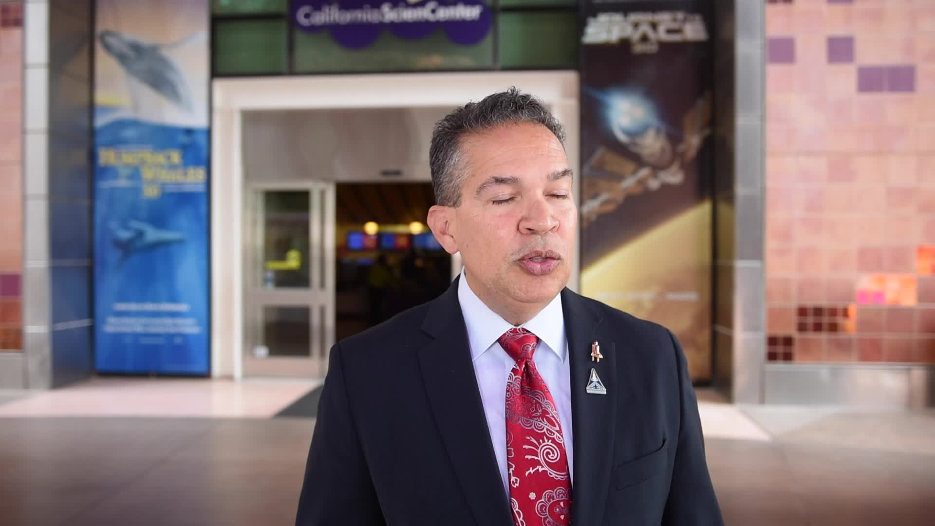William Harris, Senior Vice President, Development and Marketing at the California Science Center