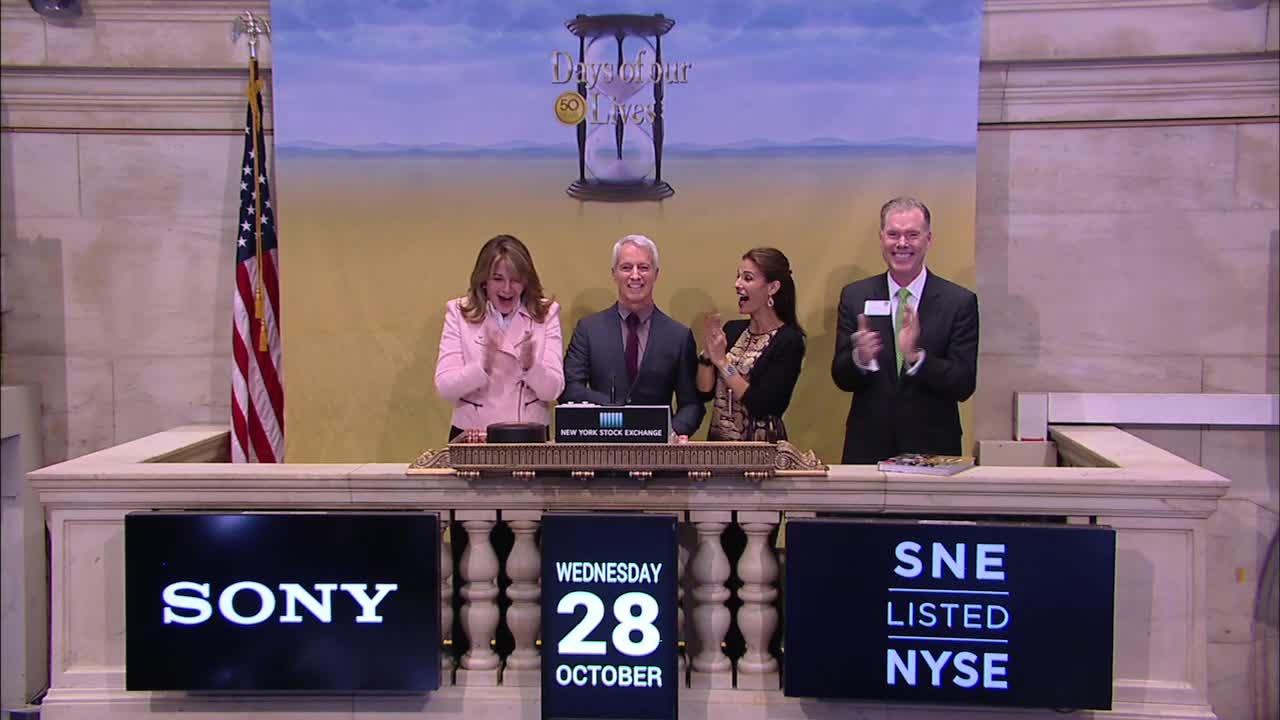 NYSE Bell Ringing