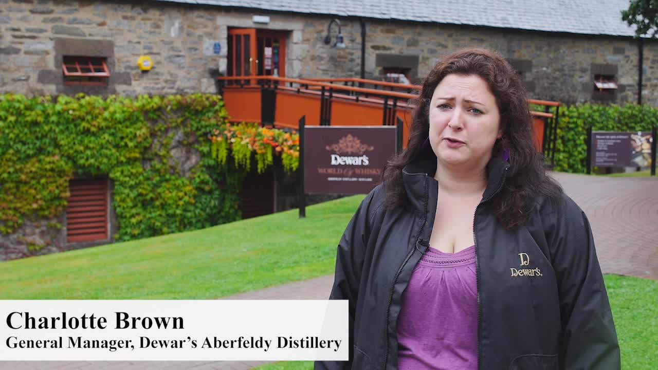 The newly renovated DEWAR'S Aberfeldy Distillery in Scotland features interactive displays, newly released historic memoirs, a cafe featuring a locally sourced menu, along with a robust recycling program and fuel-efficient transportation to help reduce the impact on the environment.