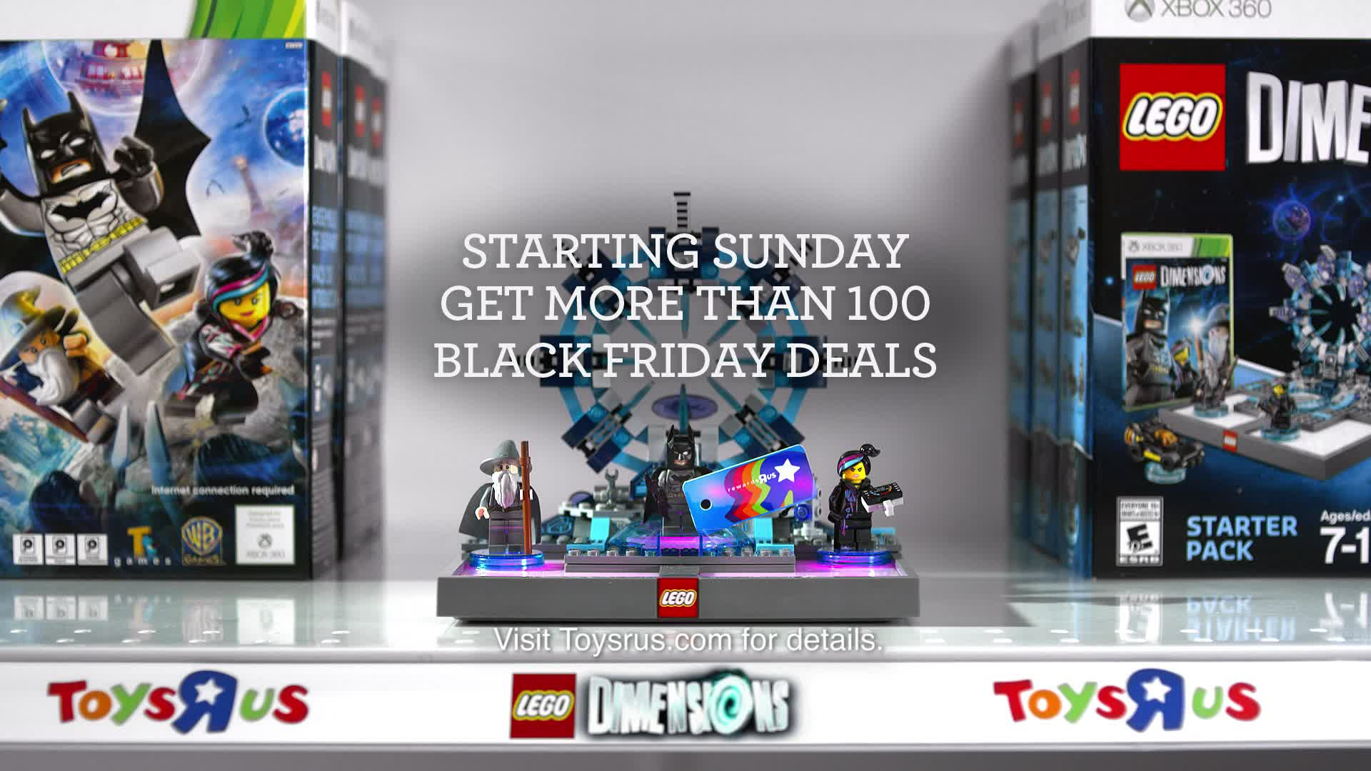 "Toys""R""Us unveils new ""AWWWESOME"" ad featuring Black Friday offer for Rewards""R""Us members."