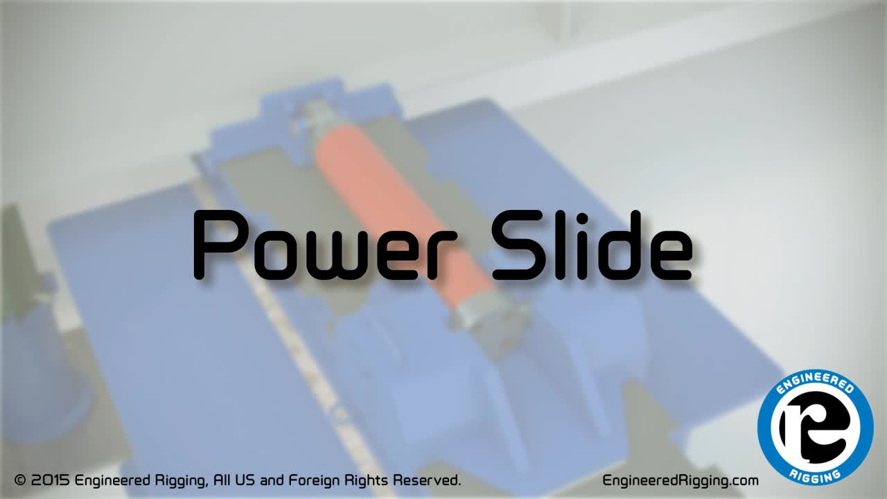 Engineered Rigging's Power Slide Moves Massive Loads Without a Crane