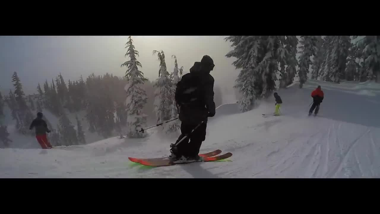 Mt. Hood Meadows Powder Video from Dec. 14, 2015