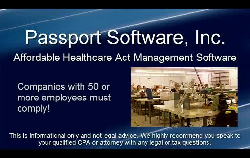 Passport's Affordable Care Act Management Software