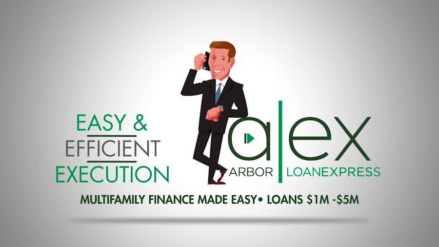 Watch and see what ALEX (Arbor LoanExpress) can quickly and easily do on your next multifamily loan.