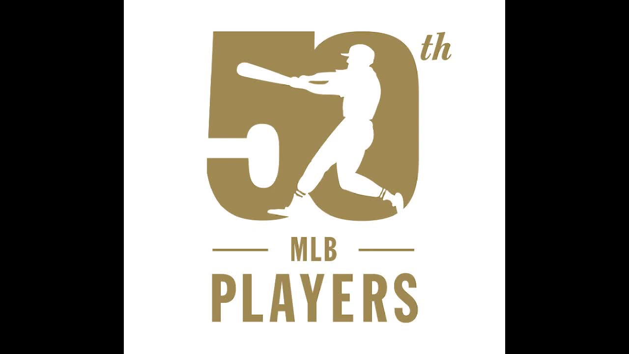 Watch as the Major League Baseball Players Association unveils the logos it created to help celebrate its 50th anniversary as a labor organization.  #MLBPA50