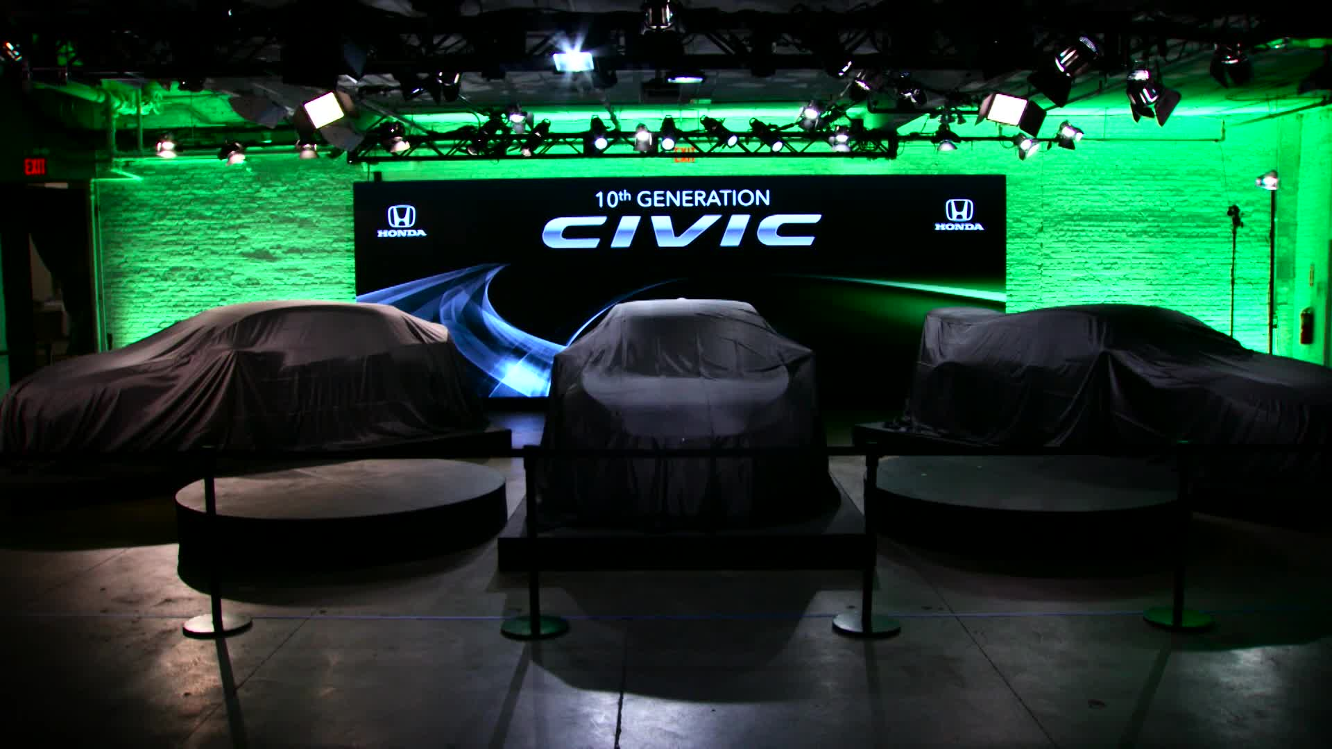 Honda New York Civic reveals recap video