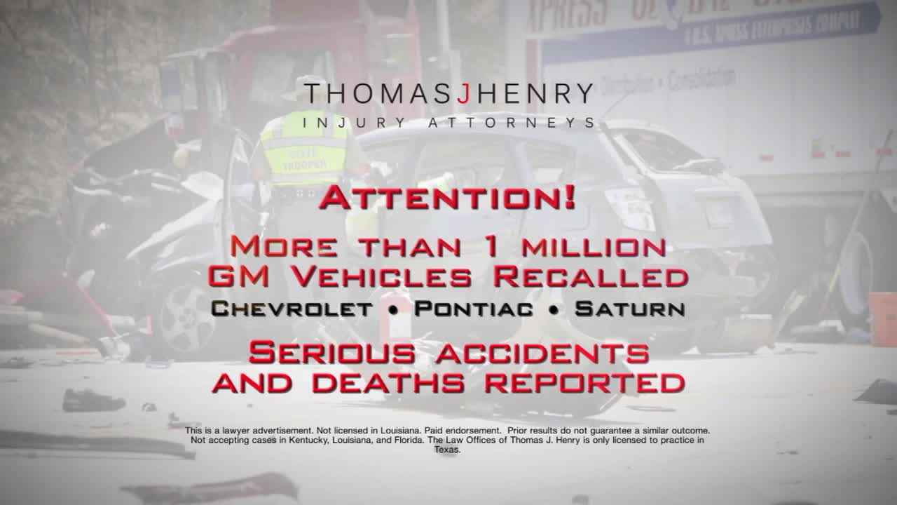 Thomas J. Henry Injury Attorneys is representing GM recall victims nationwide.