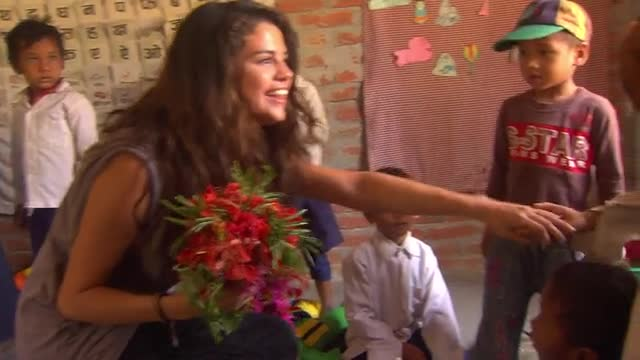 UNICEF Ambassador Selena Gomez visits UNICEF programs in Nepal. Video Credit: Courtesy of U.S. Fund for UNICEF/Desmond Wright/MataHati