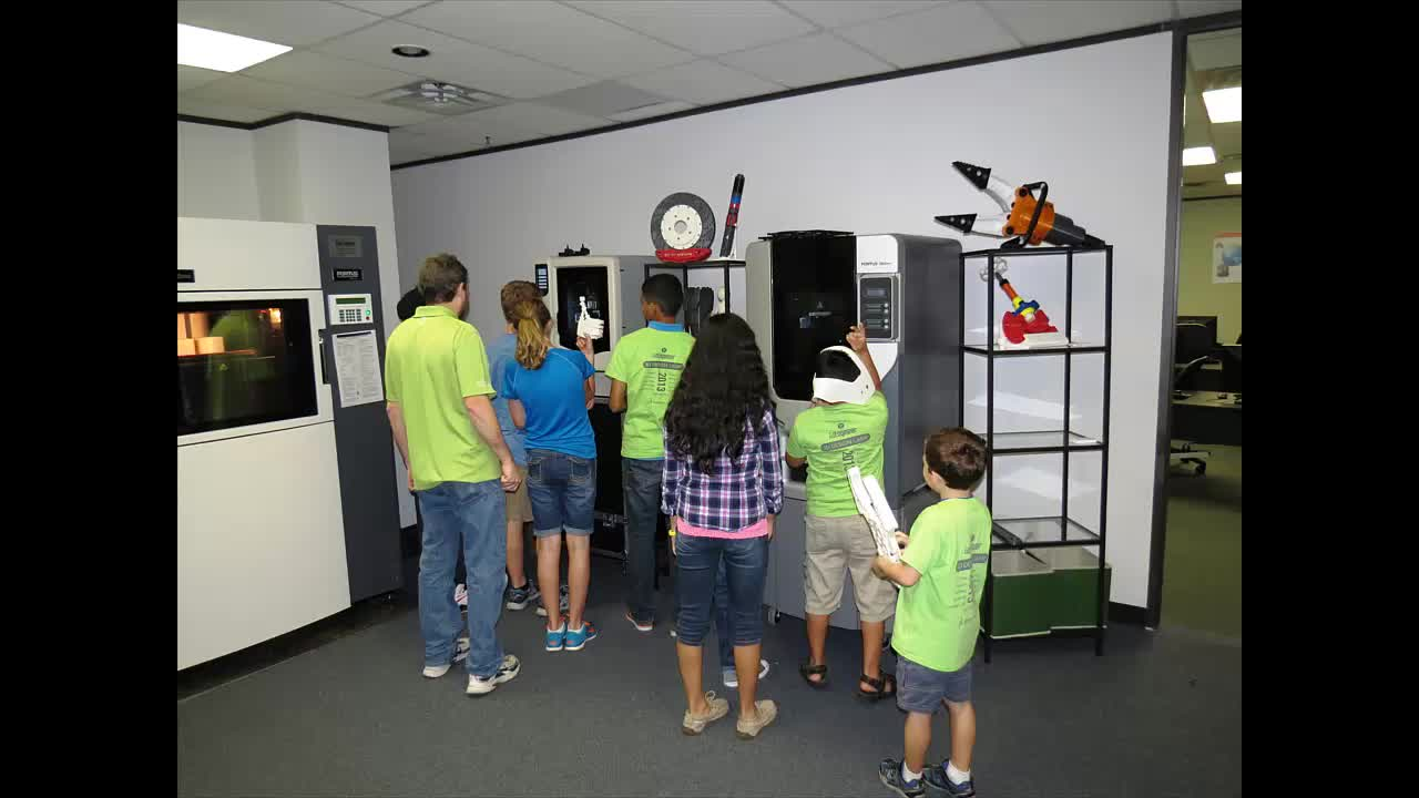 Kids Get Into 3D Design & Printing