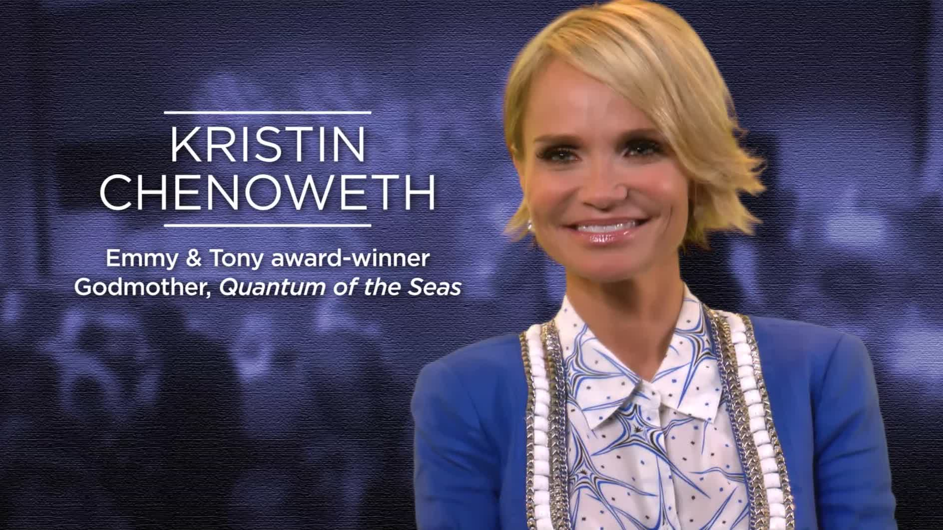 Kristin Chenoweth Plays Expanded Role With Royal Caribbean As Quantum Experience Advisor for Entertainment