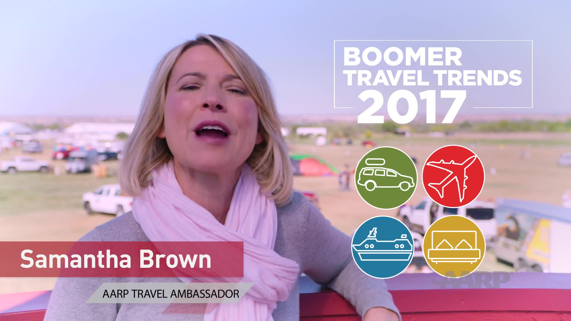 AARP 2017 Travel Trends Video with Samantha Brown