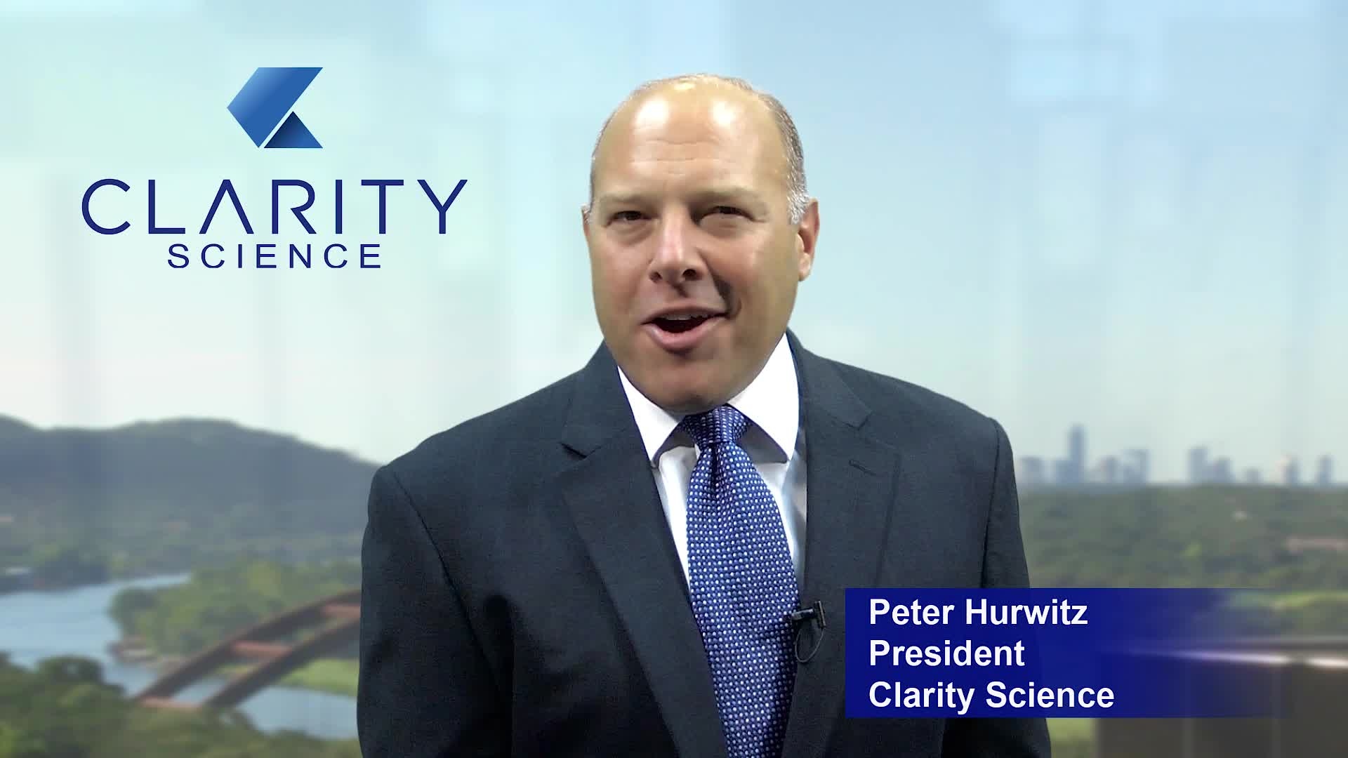 Clarity Introduction by Clarity President, Peter Hurwitz