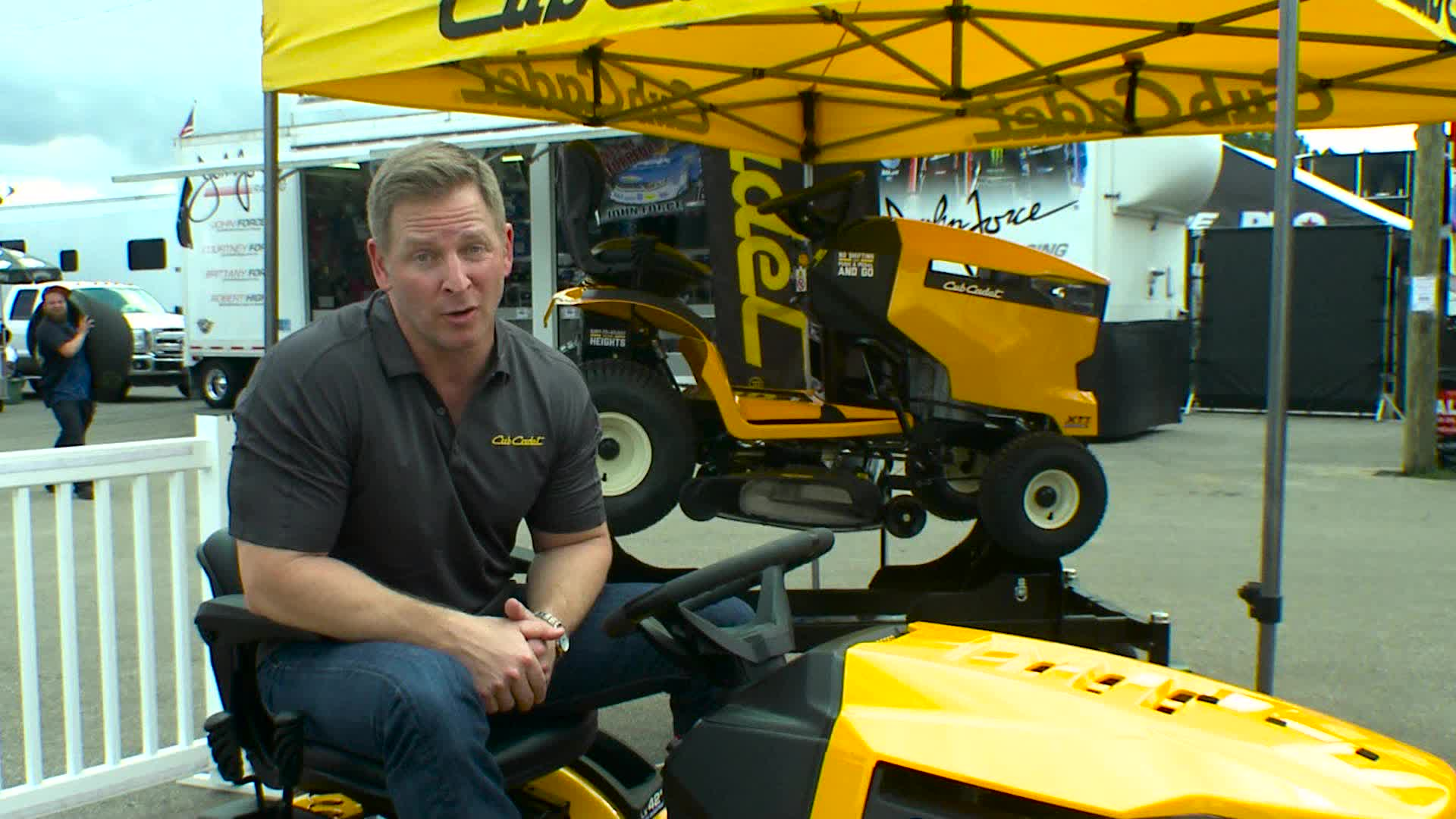 The 'Ready Set Mow Challenge' encourages homeowners to share photos of their mowing activities for a chance to win a new lawn mower at the Cub Cadet Strongsville Experience.