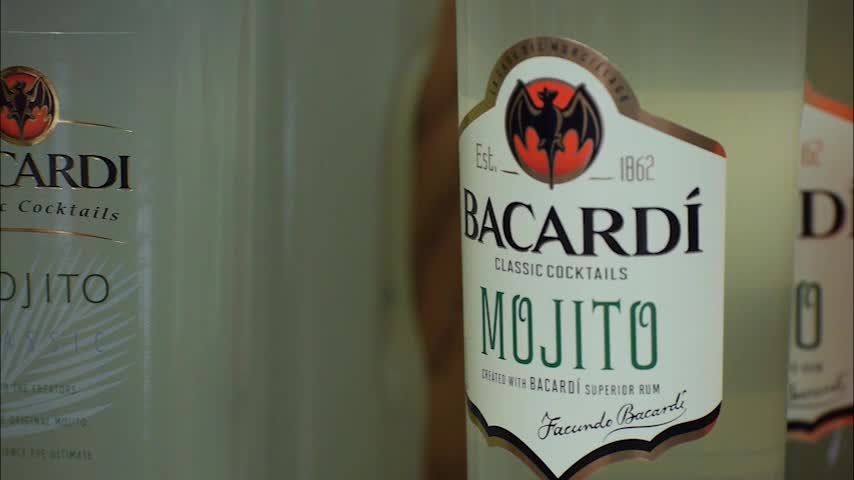 VIDEO COPY: BACARDI rum bottles are highly engineered and crafted for both beauty and environmental efficiency. Through thoughtful eco-design, some bottles now weigh 30% - 90% less than they did just a few years ago. These lighter weight bottles lower transportation costs, while making shipping more streamlined and resulting in lower CO2 emissions.