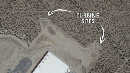 See the construction of Nestle Waters North America's first wind turbines in Cabazon, California.