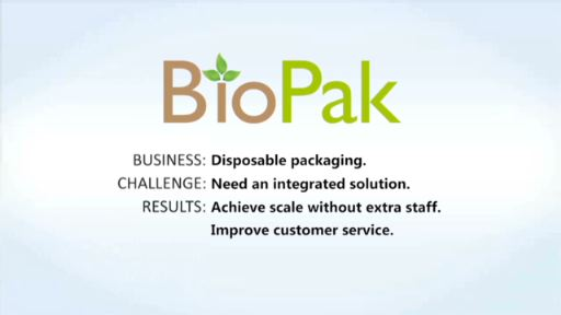 BioPak Taps NetSuite OneWorld to Run Entire Business Including Financials, Inventory, Order Management, CRM and eCommerce.