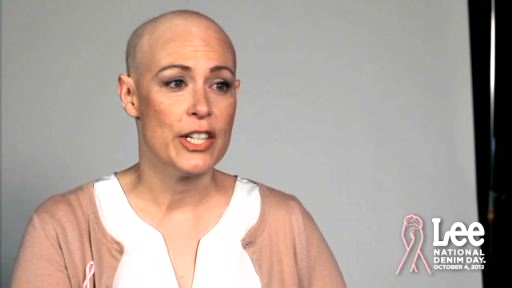 Watch Lee National Denim Day Ambassador Amy's story and find out why she's asking millions to put on their jeans and donate $5 to the American Cancer Society on October 4, 2013.