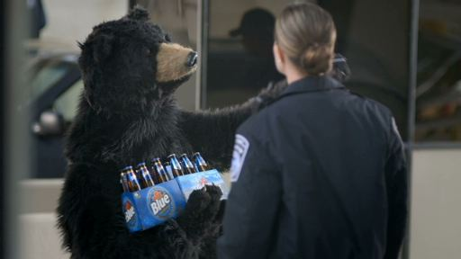 Labatt Bear Commercials Are Back