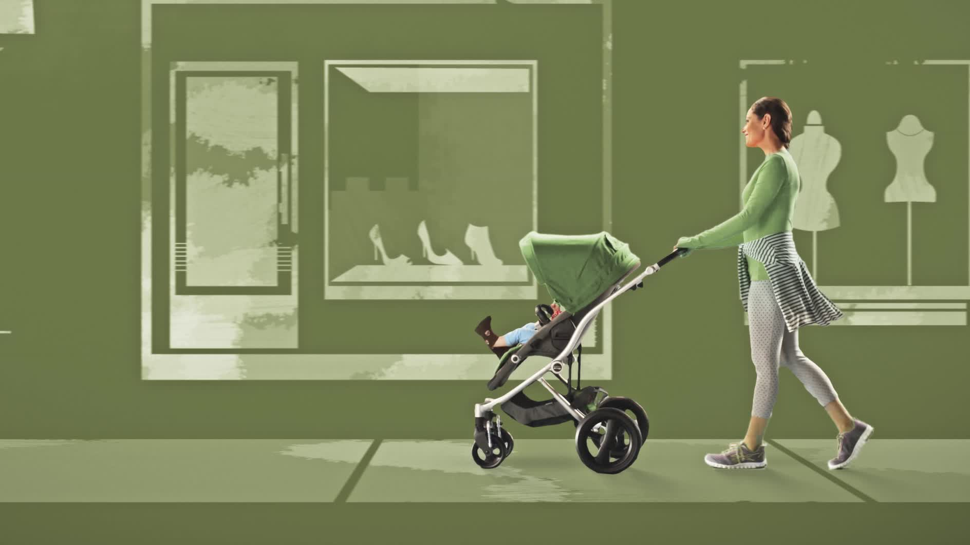 The new BRITAX Affinity is engineered to stroll and designed to strut.