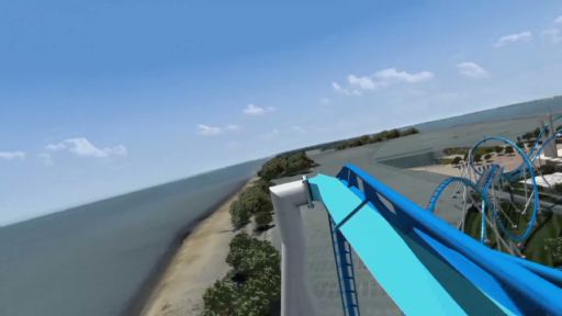 This video simulation shows how GateKeeper, Cedar Point's new winged coaster opening in 2013, will take riders on an exhilarating journey over the park's main entrance.