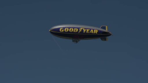 "After 13 years of service, the Goodyear Blimp ""Spirit of Goodyear"" has become a ""Snow Bird"" and is leaving northeast Ohio's snow and cold for a retirement in the sunshine and warmth of Florida."