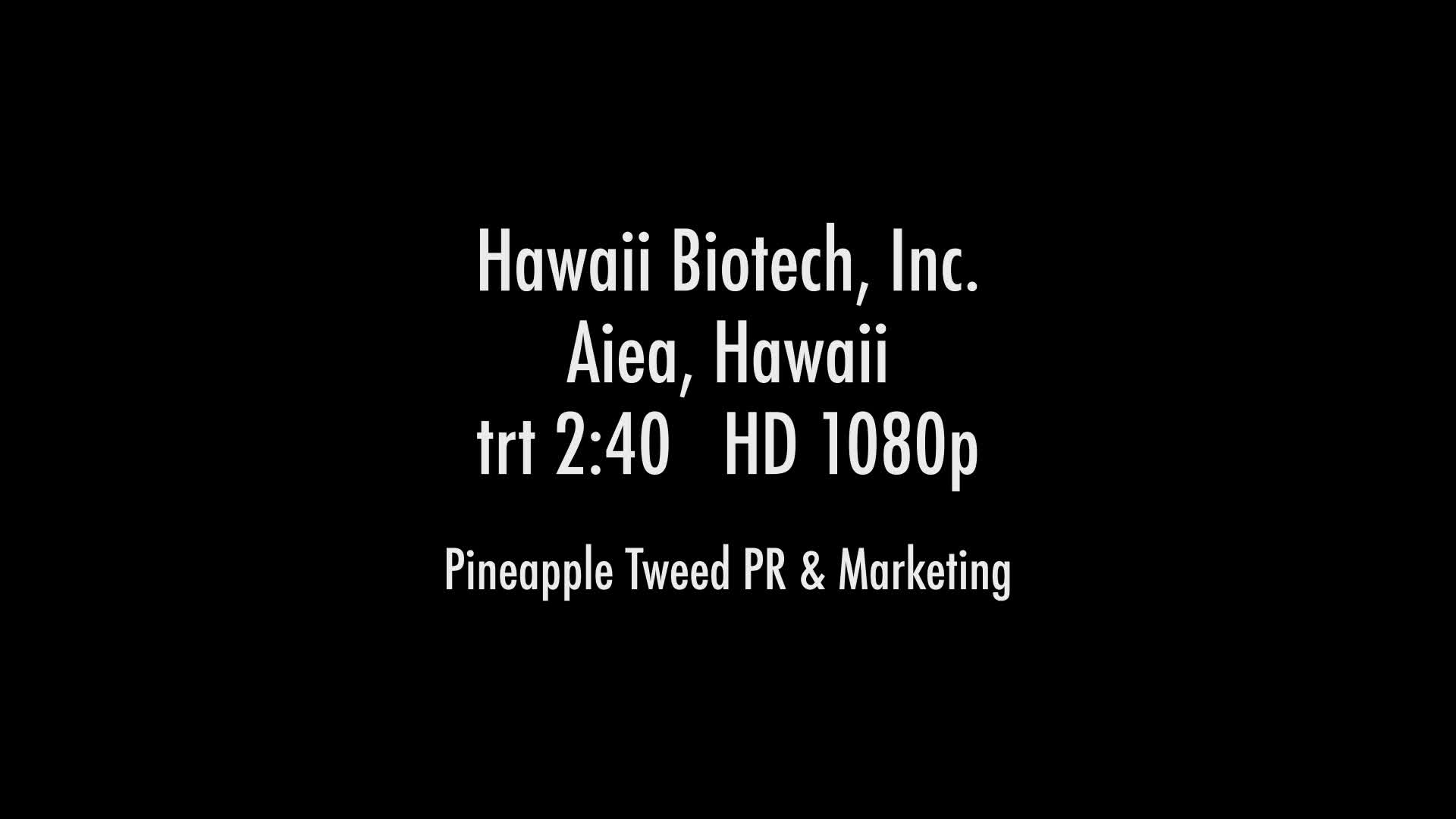 Hawaii Biotech Adds Drug Discovery To Vaccine Development