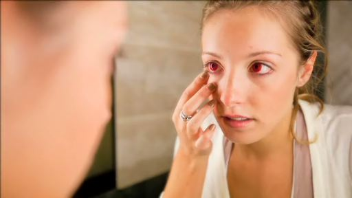 "This 90-second video PSA demonstrates the dangers of non-prescription decorative contact lenses, which can lead to corneal ulcers, painful infections and blindness. It was developed for the American Academy of Ophthalmology's award-winning ""Want Scary Eyes? The Dangers of Decorative Contact Lenses"" public awareness campaign."