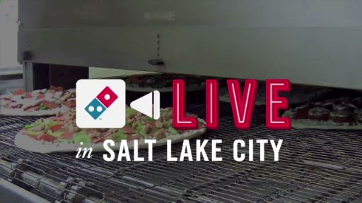 "Beginning today at DominosLive.com, fans and customers can follow the stages of pizzas and much more -- as Domino's Pizza opens its ""digital doors"" and debuts 'Domino's Live' from the kitchen of its store location in Salt Lake City, UT"