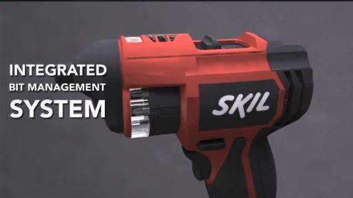 Introducing the new 360 Quick-Select™ 4V Max Screwdriver (#2356-01) from SKIL – the ideal solution to the never ending problem of missing screwdriving bits