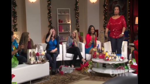 "During this year's ""Oprah's Favorite Things: 2012"" Oprah Winfrey surprises an unsuspecting group of military spouses with a MAJOR gift. Video courtesy of OWN: Oprah Winfrey Network. For more, visit www.oprah.com/favoritethings"