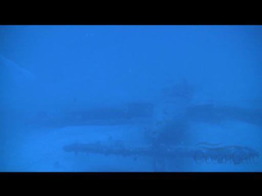 Video Courtesy of OceanGate, Inc. July 2012- Sunken WWII F6F Hellcat discovered at 240 feet by 5-person submarine, Antipodes.