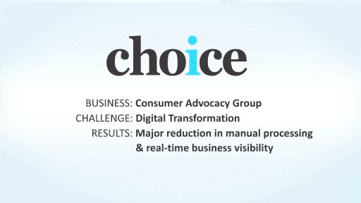 CHOICE Replaces Multiple On-Premise Applications With NetSuite Cloud to Support Digital Growth