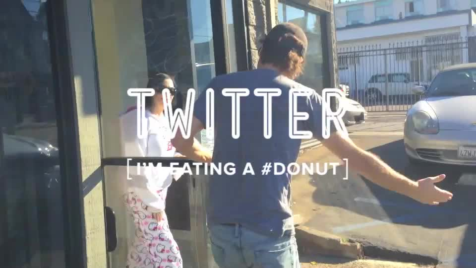 Social Media Explained in Donuts.