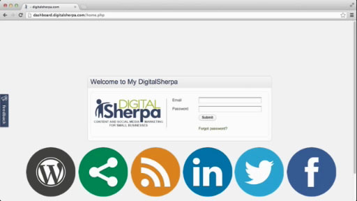The new Internet marketing dashboard, myDigitalSherpa, creates a single point of access for DigitalSherpa services at www.dashboard.digitalsherpa.com.