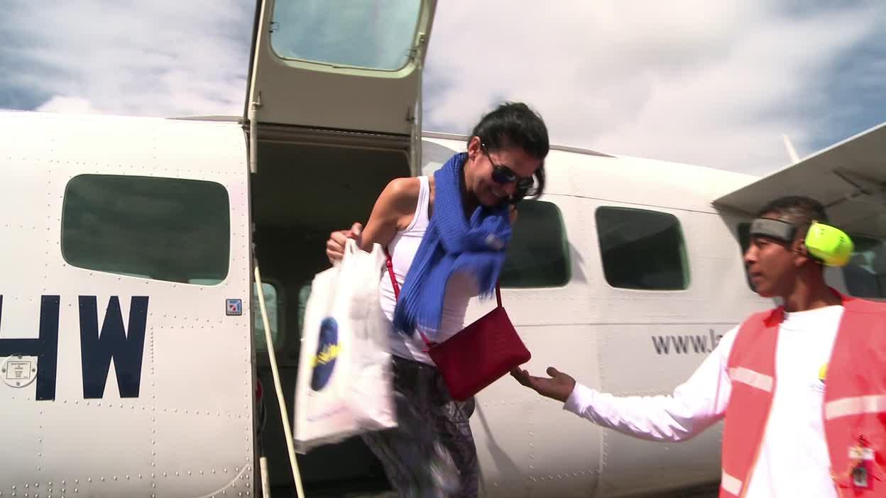 UNICEF Ambassador Angie Harmon's visit to Nicaragua with UNICEF