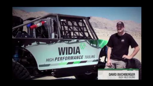 WIDIA Sponsors 2013 Ultra4 Vehicle for King of the Hammers Race. First sponsor outside racing brings leading technology to extreme desert racing premier event. In a contest that runs like survival of the fittest, WIDIA Products Group announced its plans to sponsor the Ultra4-class Griffin King of the Hammers Race Presented by Nitto Tire in Johnson Valley, California on Friday, February 8. In addition, the brand will back Buck Wild Racing and driver David Buchberger's WIDIA Ultra4 Rock Racer, built race-ready with WIDIA products and solutions that lend more than 80 years of metalworking and tooling expertise.