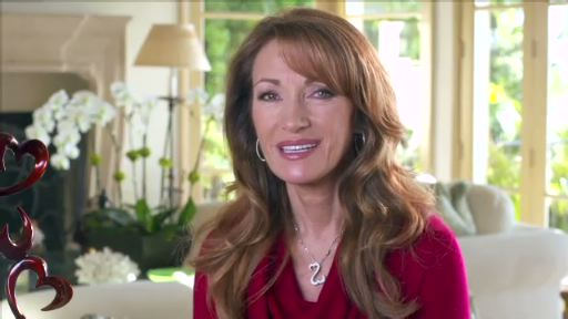 Jane Seymour discusses Valentine's Day and the Open Heart Philosophy