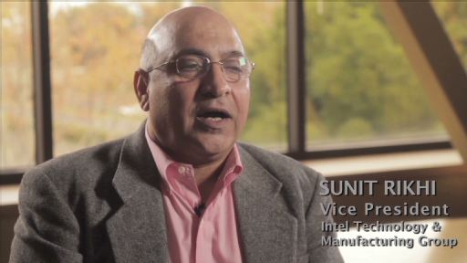 Sunit Rikhi, Intel's VP, Technology and Manufacturing Group discusses a manufacturing access agreement between Tabula Inc., and Intel Custom Foundry