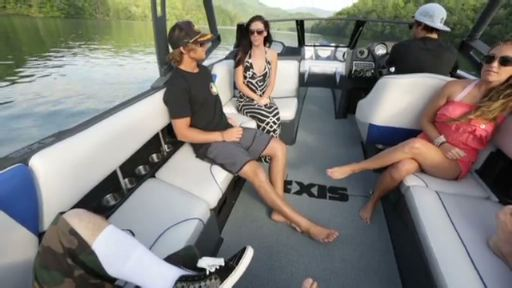 Continuing to meet the demand of towed-watersports enthusiasts worldwide, Axis Wake Research® announced production of the A24 towboat, capping off the A-Series trio, which also includes the very popular A20 and A22 models. In addition, the brand will be offering the groundbreaking innovation, SURF GATE®, as an option on all models in the 2014 model year.