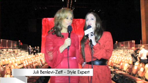 Alexa Ray Joel and Julie Benlevi-Zeff JIB for JULIB.com with Kardashian-mom, Kris Jenner, Wendy Williams, Savannah Guthrie and others as Kelly Osbourne, Kendall and Kylie and other red-dresses walk the runway.