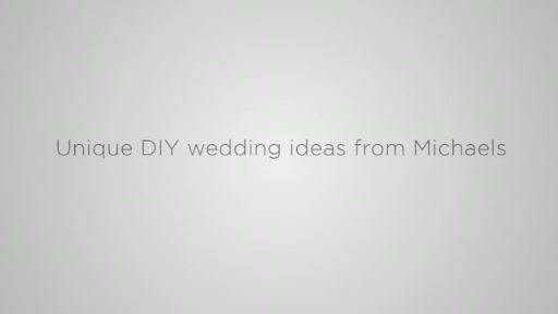 Michaels Wedding Trend Video