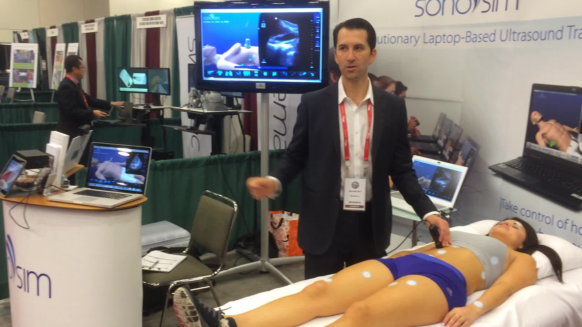 SonoSim LiveScan(TM) Demonstration