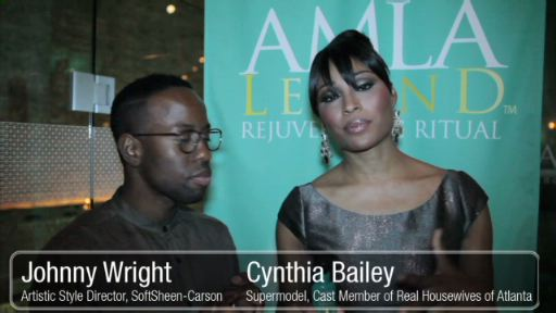 Cynthia Bailey Joins Forces with Optimum Salon Haircare for the Launch of AMLA Legend