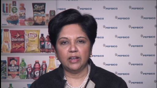 A message from PepsiCo's Chairman and CEO, Indra K. Nooyi, on the announcement of a new global structure and two senior leadership appointments that will help to leverage the power and scale of PepsiCo.