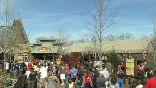 Silver Dollar City's Outlaw Run, world's most daring wood coaster, launches March 15.