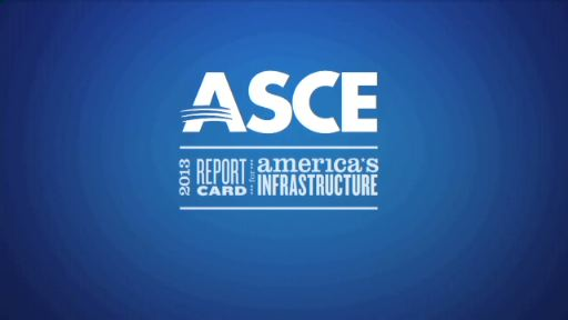 ASCE released its 2013 Report Card for America's Infrastructure, an assessment of the nation's infrastructure across 16 sectors. Updated once every 4 years, this year's Report Card found the overall grade for infrastructure rose slightly to a D+ from a D in 2009. 2013 grades range from a high of B- for solid waste infrastructure to a low of D- for inland waterways and levees. Six sectors (solid waste, drinking water, wastewater, roads, bridges, and rail) experienced improvements since the last assessment.